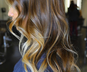 hair, pretty, and blonde image