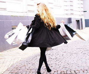 fashion, shopping, and blonde image