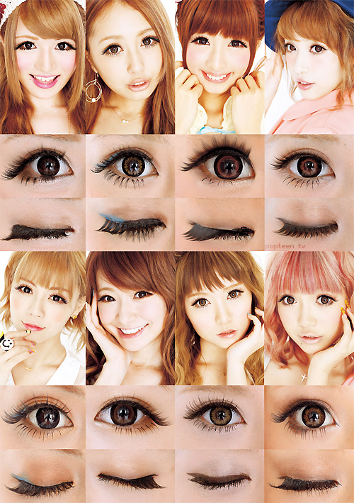 2ca3a4c0223 Gyaru Makeup Without Fake Lashes 64 タイムラインの写真 Uploaded By Rinnie On We Heart