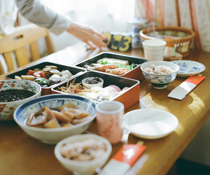 food, japan, and asia image