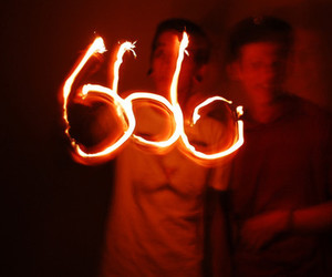 666, Devil, and red image