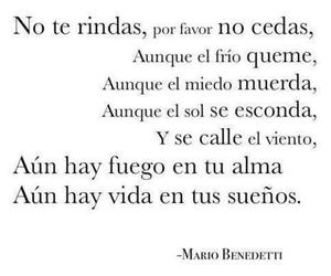 mario benedetti, Dream, and frases image
