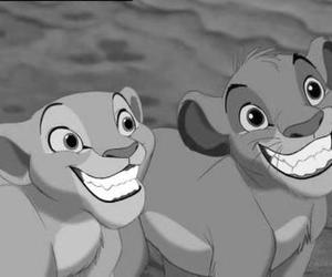 disney, simba, and smile image