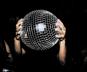 party, disco ball, and disco image
