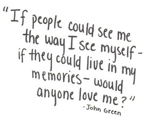depression, john green, and disappointment image