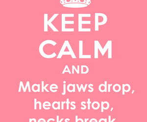 keep calm, bitch, and pink image