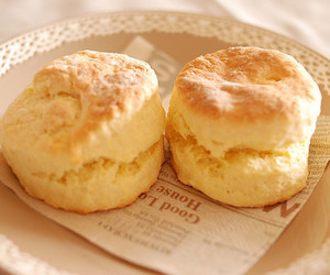 food, pastel, and biscuits image