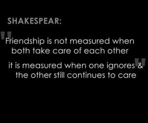 quote and it's shakespeare image