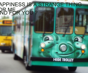 bus, happiness, and smile image