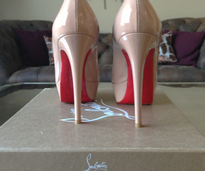 christian louboutin, heels, and shoes image