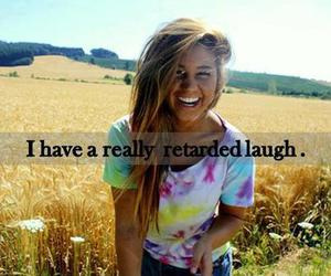 laugh, girl, and smile image