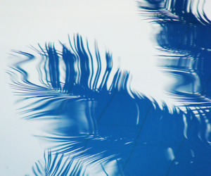 blue, reflection, and water image