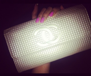 chanel, clutch, and fashion image