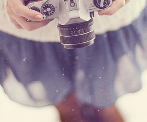 camera, photography, and snow image