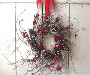 bow, christmas, and xmas image