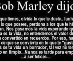 bob marley, frases, and phrases image