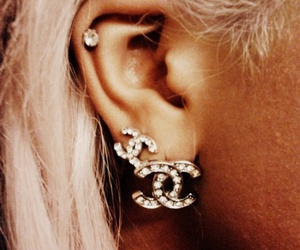 chanel, fashion, and piercing image