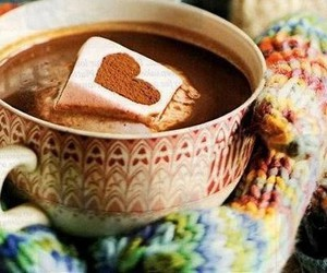 heart, winter, and chocolate image