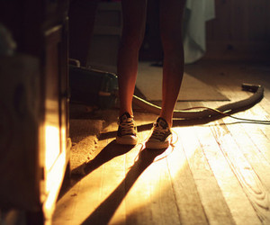 attic, converse, and photography image