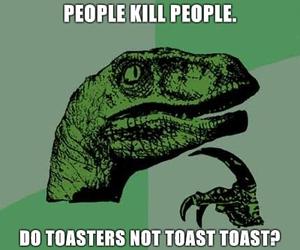 dinosaur, food, and people image