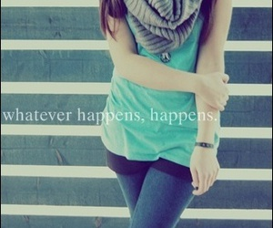 fashion, girl, and happens image