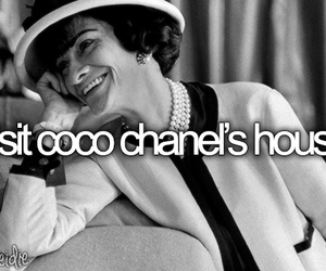 before i die and coco chanel image