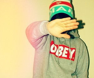 obey, boy, and swag image