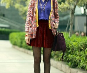ankle boots, cardigan, and gorgeous image