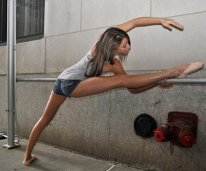 ballet, dance, and skinny image