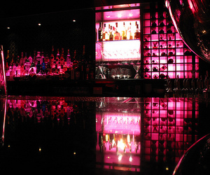 drink, bar, and pink image