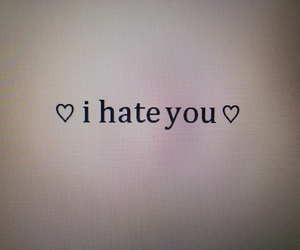 hate, quote, and text image