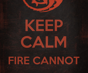 keep calm and game of thrones image