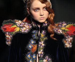 catwalk and Lily Cole image