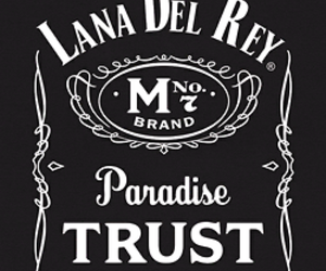 lana del rey, paradise, and black and white image