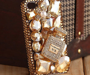 beautiful, chanel, and gold image