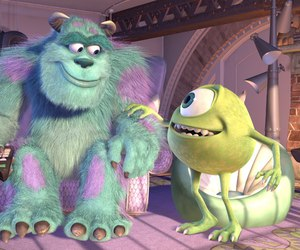 monsters inc, movie, and friendship image