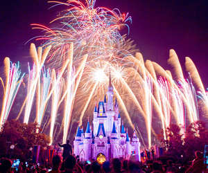 disney, fireworks, and Dream image