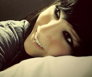 emo, smile, and girl image