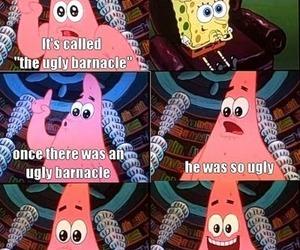 spongebob, funny, and patrick image