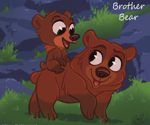 disney, brother bear, and bear image