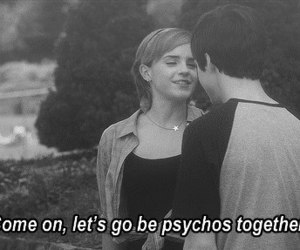 emma watson, Psycho, and logan lerman image