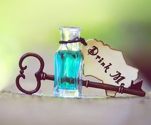 key, drink me, and drink image