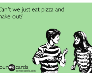 boyfriend, ecards, and pizza image
