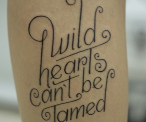 tattoo, wild, and hearts image