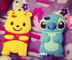cute, iphone, and stitch image