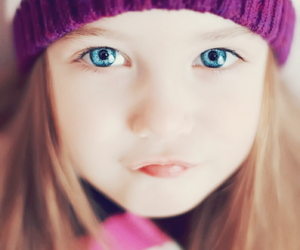 beautiful, little girl, and perfection image