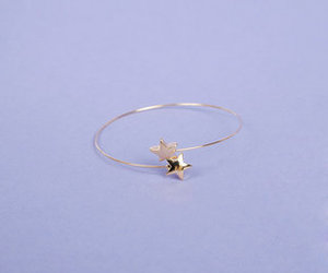 small, cute, and shooting star ring image