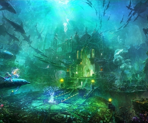 fantasy, beautiful, and fish image