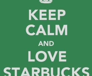 keep calm and starbucks image