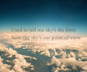 clouds and as long as you love me image